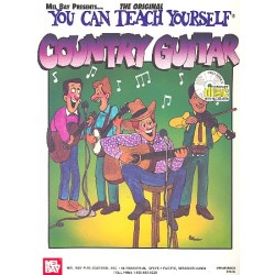 You can teach yourself Country Guitar (+CD)