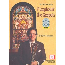 Flatpickin' the Gospels (+CD+DVD-Video) Kaufman, Steve, Ed