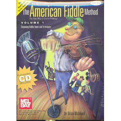 Wicklund, Brian: The American Fiddle Method vol.1 (+CD): vor violin