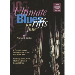 100 Ultimate Blues Riffs (+CD) : for Flute