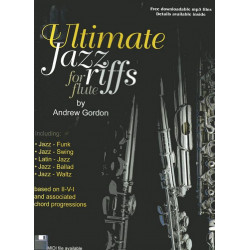 100 Ultimate Jazz Riffs (+CD) : for Flute Gordon, Andrew, Ed