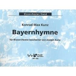 Kunz, Konrad Max: Bayernhymne : für Blasorchester