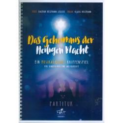Heizmann, Klaus: Das Geheimnis der heiligen Nacht : für Kinderchor und Instrumente Partitur