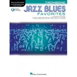 Jazz Blues Favorites (+Audio Access) : for trombone