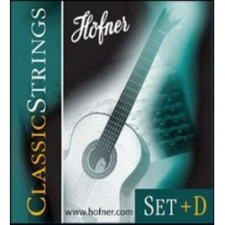 HÖFNER Premium Strings Konzertgitarrensaiten