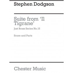 Dodgson, Stephen: Suite : for 3 Trumpets, 3 Trombones and Tuba Score and Parts