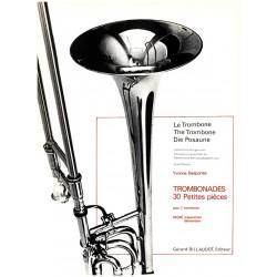 Desportes, Yvonne Berthe Melitta: Trombonades : 30 petite pieces pour 2 trombones