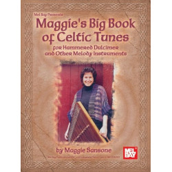 Sansone, Maggie: Maggie's Big Book of Celtic Tunes : for Hammered Dulcimer (Melody Instruments)