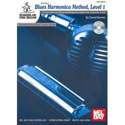 Barrett, David: Blues Harmonica Method Vol.1 (+CD) : School of the Blues Lesson Series