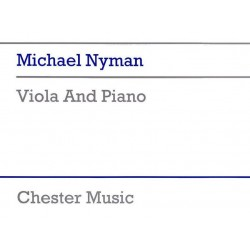 Nyman, Michael: Viola and Piano
