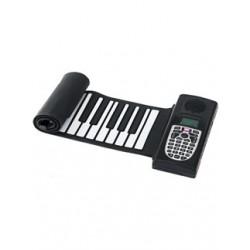 PURE TONE Roll-up Piano, kleine Tastatur zum Aufrollen für unterwegs