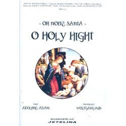 Adam, Adolphe Charles: O Holy Night für Alt und Akkordeonorchester Partitur