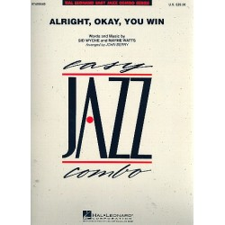Wyche, Sid: Alright okay You win : for jazz combo score and parts
