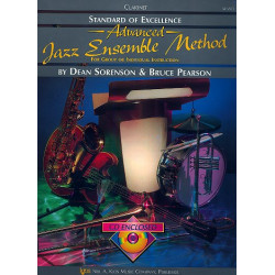 Sorenson, Dean: Advanced Jazz Enssemble Method: Klarinette 1 in B