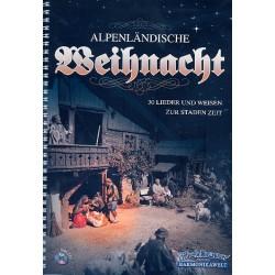 Alpenländische Weihnacht (+CD) : für steirische Harmonika (1.+2. Stimme)