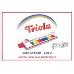 Liederbuch Band 2 - Weihnachtslieder : für Triola (Richter-Mundharmonika)