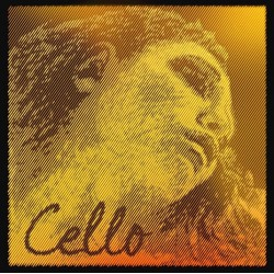 Pirastro Evah Pirazzi GOLD Cellosaite C 4/4 - mittel