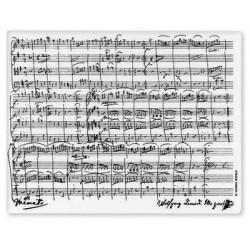 Mousepad Mozart Weiss