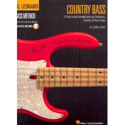 Letsch, Glenn: Country Bass (+Audio Access) : for bass/tab