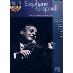Violin Play-Along vol.15 (+CD) : Stephane Grappelli