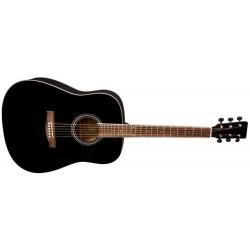 VGS Westerngitarre D-1 schwarz