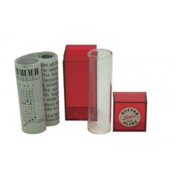 CLAYTON Bottleneck/Slide Glas medium, 20,3x72mm