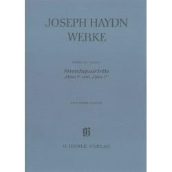 Haydn, Joseph Streichquartette op. 9 und op. 17 Kritischer Bericht