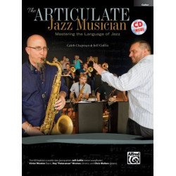 Chapman, Caleb: The Articulate Jazz Musician (+CD) : for concert band guitar