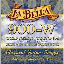 La Bella 900-W Konzertgitarrensaiten (G umsponnen)