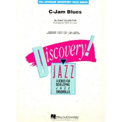 Ellington, Duke: C Jam Blues: for jazz ensemble score and parts