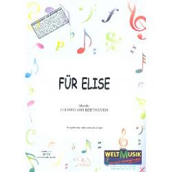 Beethoven, Ludwig van: Für Elise : für elektronische Orgel