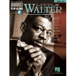 Harmonica Play-along vol.13 (+CD) : Little Walter