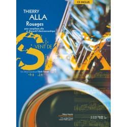 Alla, Thierry: Rouages (+CD) : pour saxophone alto et dispositif ├®lectroacoustique