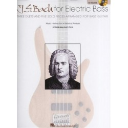 Bach, Johann Sebastian: J. S. Bach for Electric Bass (+CD) for bass guitar