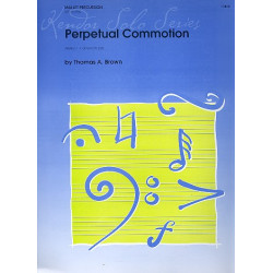 Bach, Johann Sebastian: Perpetual Commotion : for mallet percussion and piano