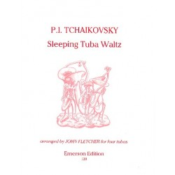 Tschaikowsky, Peter Iljitsch: Sleeping Tuba Waltz for 4 tubas score and parts