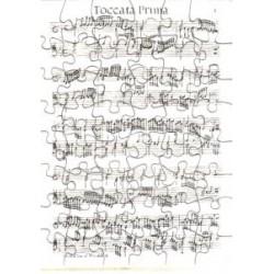 Postkarte Puzzle (48 Teile): Toccata prima von Frescobaldi mit Umschlag