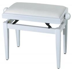 GEWApure Pianobank FX weiß hochglanz/weiß