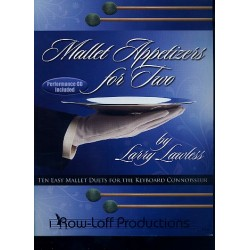Lawless, Larry: Mallet Appetizers (+CD) : for 2 mallets