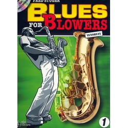Stuger, Fred: Blues for Blowers (+CD) : for tenor saxophone