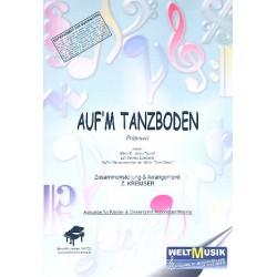 Auf'm Tanzboden : Einzelausgabe f├╝r Gesang und Klavier mit Akkordbez.