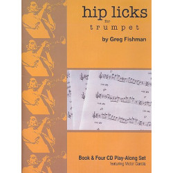 Fishman, Greg: Hip Licks (+4CD's): for Trumpet