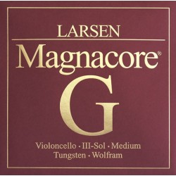 Larsen Magnacore Cellosaite G 4/4 - mittel