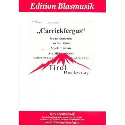 Carrickfergus : f├╝r Euphonium und Blasorchester Partitur und Stimmen