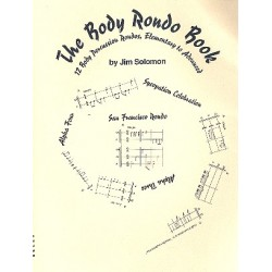 Solomon, Jim: The Body Rondo Book : for body percussion