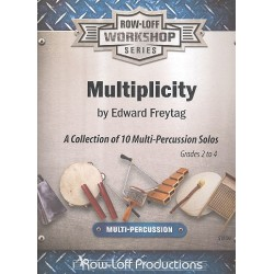 Freytag, Edward: Multiplicity for multi-percussion solo