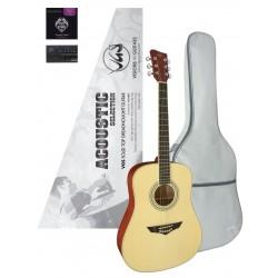 VGS Mistral Series Acoustic Selection Westerngitarre inkl. Tasche und Zubehör