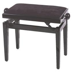 GEWApure Pianobank FX schwarz Hochglanz