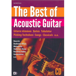 The Best of Acoustic Guitar (+CD) :