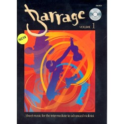 Barrage Vol.1 (+CD) : Sheet Music for the intermediate to advanced violinist